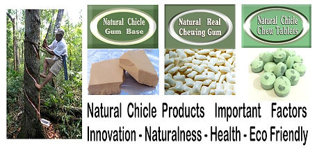 Aboaf natural chicle