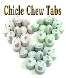 Chicle Sugarfree chew