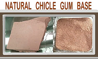 Natural Chewing Gum Base