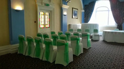 Emerald green sashes