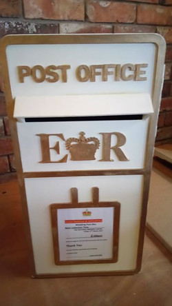 Our wooden postbox