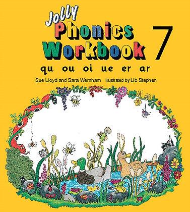 Jolly Phonics Workbook 7 : qu, ou, oi, ue, er, ar
