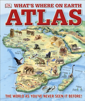 What's Where on Earth? Atlas : The World as You've Never Seen it Before