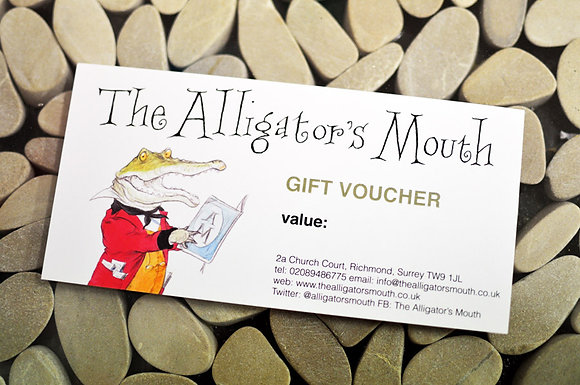 The Alligator's Mouth Gift Voucher