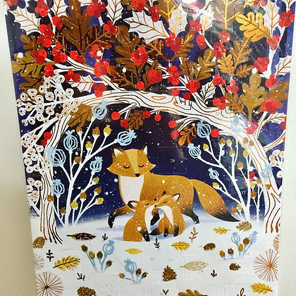 Winter Foxes advent