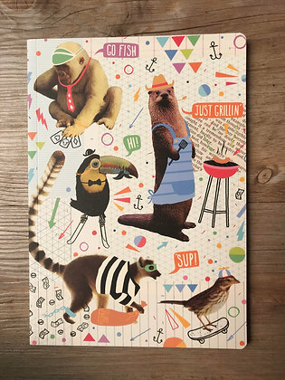 Funny Animals Notebook