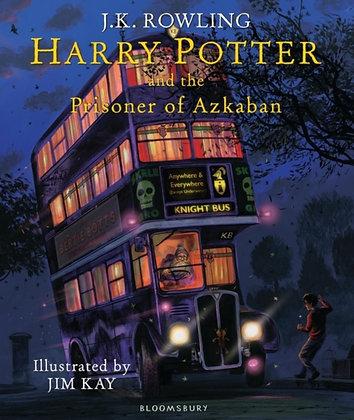 Harry Potter and the Prisoner of Azkaban fully illustrated hardback
