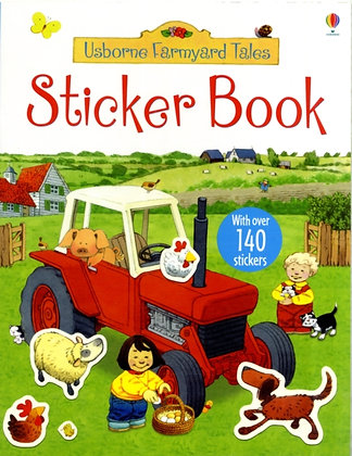 Poppy and Sam's Sticker Book