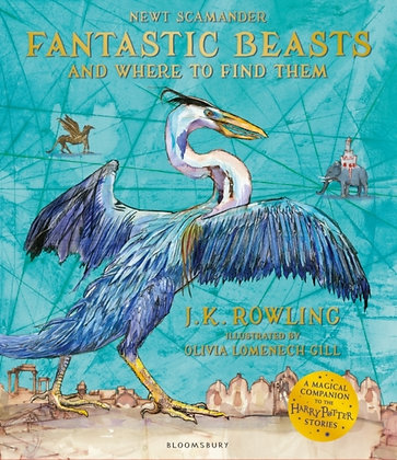 Fantastic Beasts and Where to Find Them: Illustrated Edition pb
