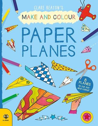Make & Colour Paper Planes : 8 Planes to Cut out and Colour
