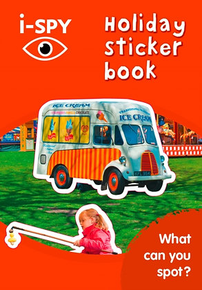 i-SPY Holiday Sticker Book : What Can You Spot?