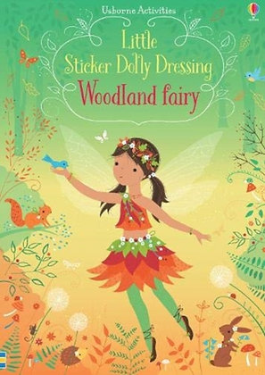 Little Sticker Dolly Dressing Woodland Fairy