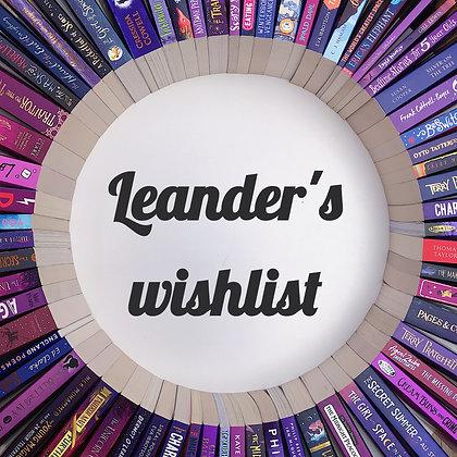 Leander's Birthday Wishlist