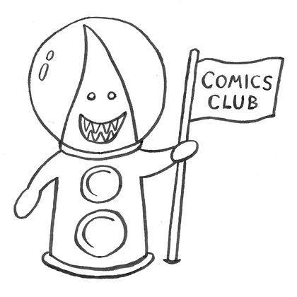 Comics Club Online: Thurs 19th Aug 4:15pm