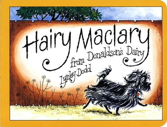 Hairy Maclary from Donaldson's Dairy Board Book