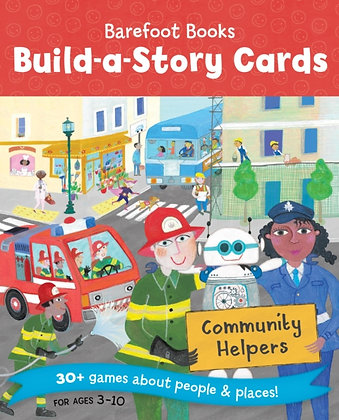 Community Helpers Build a Story Cards