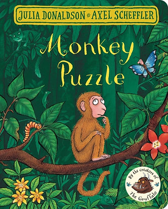 Monkey Puzzle Board Book