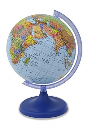 Insight Guides Globe Mini Blue Earth