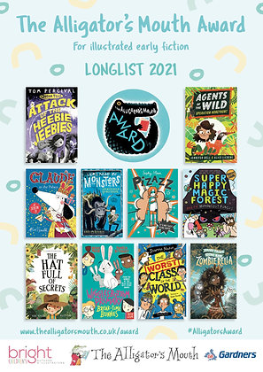 Alligator's Mouth Award Longlist 2021