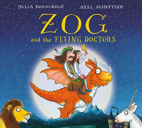 Zog and the Flying Doctors board