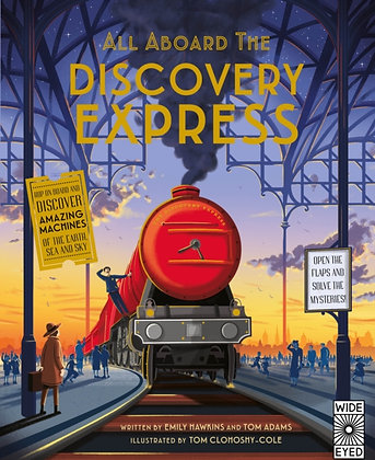 All Aboard the Discovery Express : Open the Flaps and Solve the Mysteries