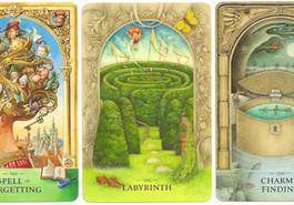 Story World cards by John & Caitlin Matthews et al.