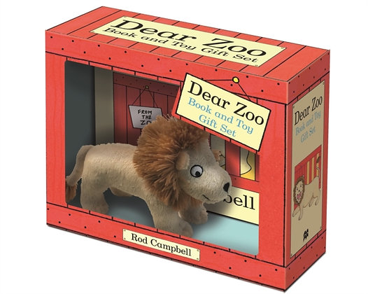 Dear Zoo Book and Toy Gift Set : Lion