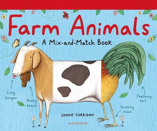 Farm Animals : A Mix-and-Match Book