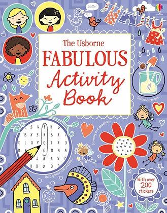 The Usborne Fabulous Activity Book