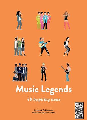 40 Inspiring Icons: Music Legends