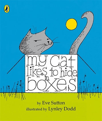 My Cat Likes to Hide in Boxes Board Book