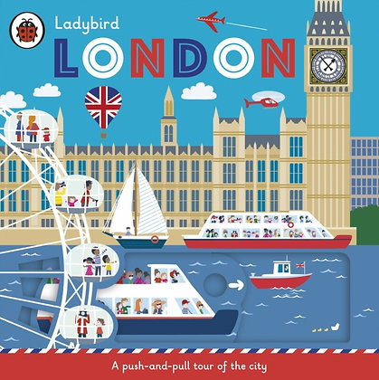 Ladybird London : A push-and-pull tour of the city