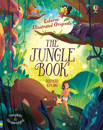 The Jungle Book Usb Padded HB