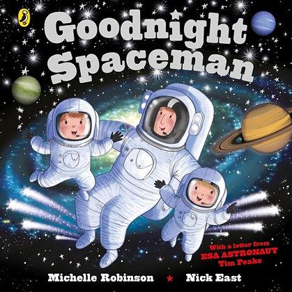 Goodnight Spaceman Board Book