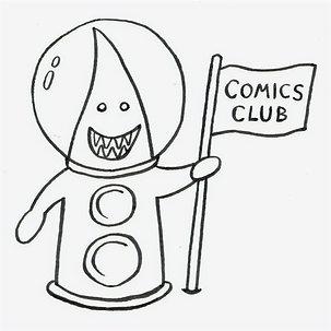 Comics Club Online: Thurs 8th April 4pm