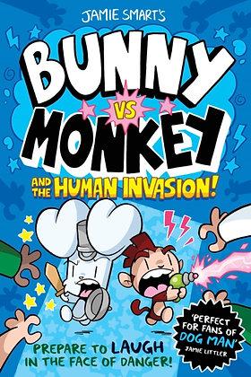 Bunny vs Monkey: the Human Invasion (vols 3 & 4)
