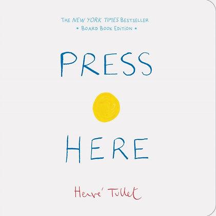 Press Here : Board Book Edition