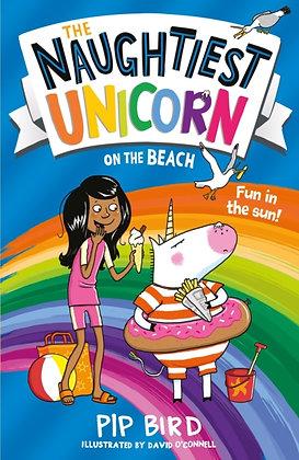 The Naughtiest Unicorn on the Beach