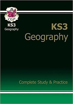CGP KS3 Geography Complete Study and Practice