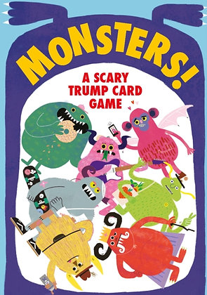 Monsters! : A Scary Trump Card Game