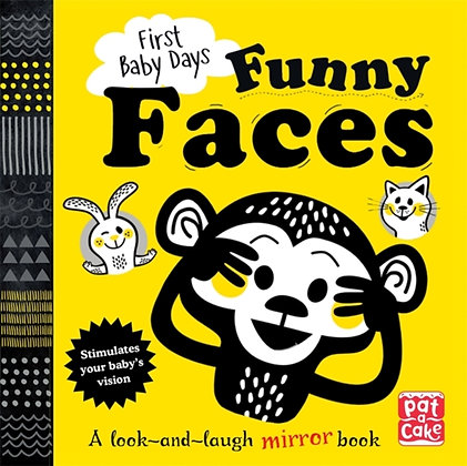 Funny Faces : A Look and Laugh Mirror Board Book