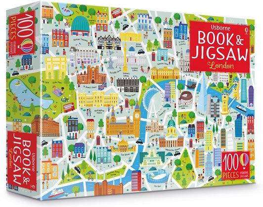 Usborne Book and Jigsaw : London