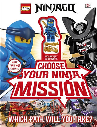 LEGO NINJAGO Choose Your Ninja Mission : With NINJAGO Jay minifigure