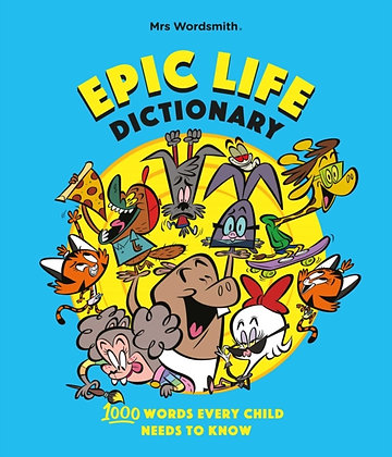 My Epic Life Word Book : 1000 Words to Live By