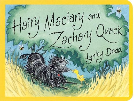 Hairy Maclary and Zachary Quack Board Book