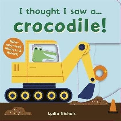 I thought I saw a... Crocodile!