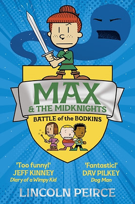 Max and the Midknights 2: Battle of the Bodkins