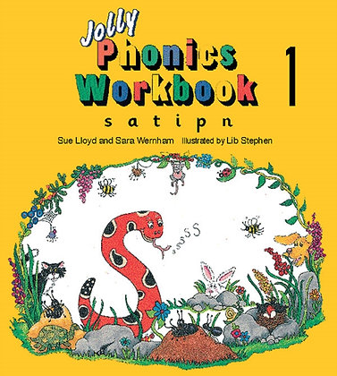 Jolly Phonics Workbook 1 : s, a, t, i, p, n