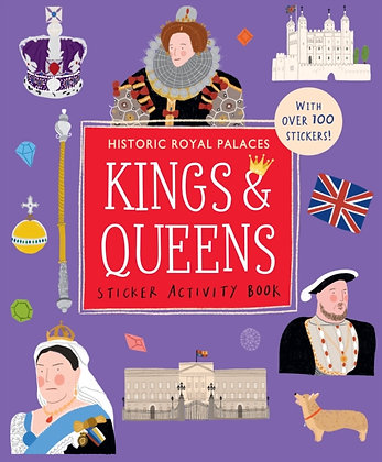 Kings and Queens Sticker Activity Book