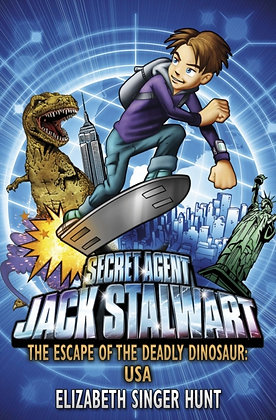Jack Stalwart: The Escape of the Deadly Dinosaur : USA: Book 1